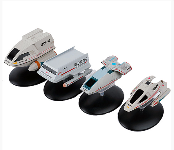 STSHUTTLESSET1 - Eaglemoss Star Trek Shuttle Craft 4 Piece