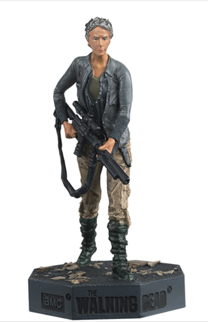TWD08 - Eaglemoss Carol The Walking Dead TV Series 2010