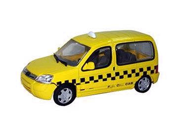 101084-X - Eligor Peugeot Partner Parisian Taxi MODEL MINT