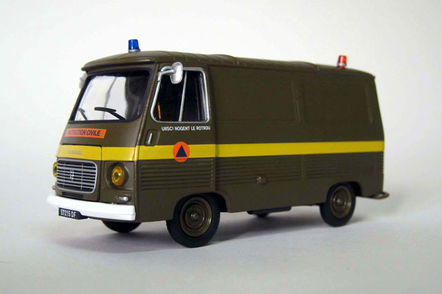 101445 - Eligor Civil Protection Van Peugeot J7 UIISC1