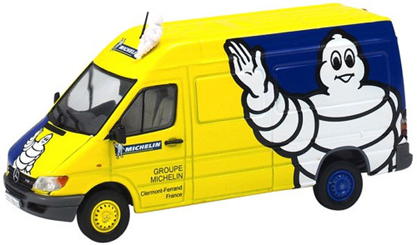 112451-X - Eligor Michelin Mercedes Sprinter Van MODEL IS