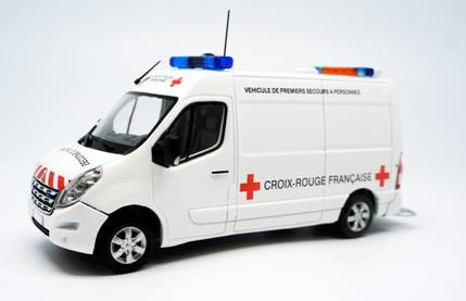 115234 - Eligor French Red Cross Renault Master Ambulance