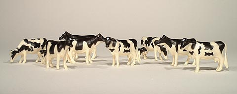 12662-25 - ERTL Toys Cattle Holsteins Bag of 25 20 adults