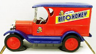 1317 - ERTL Toys Bit O Honey Nestle 1923 Chevrolet Delivery