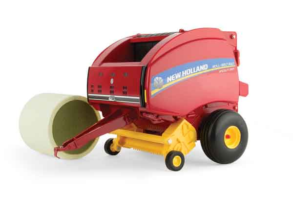 13888 - ERTL Toys New Holland Roll Belt 560 Round