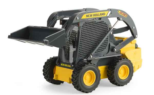 13891 - ERTL Toys New Holland L230 Skid Steer Loader