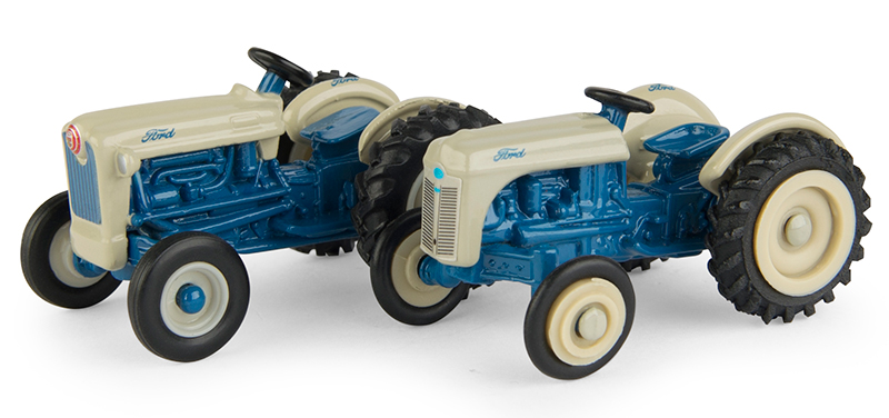 13942 - ERTL Toys Ford 8N Tractor and Ford Golden Jubilee