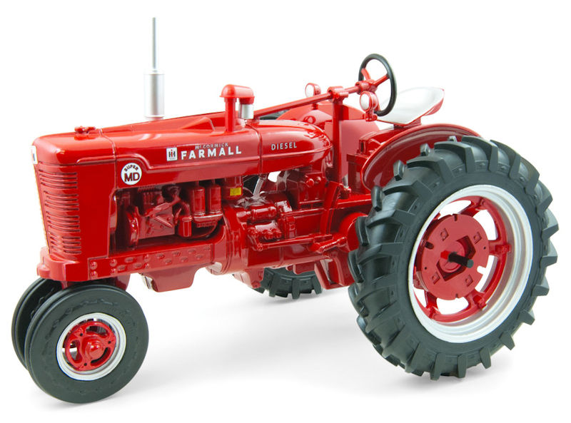 Ertl toys farmall super md narrow front tractor for Yooper craigslist farm and garden