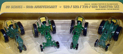 15853 - ERTL Toys John Deere Dealers Edition 4 piece set