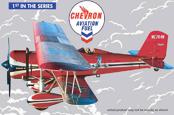21435P - ERTL Chevron Airplane Series 1 2004 1930