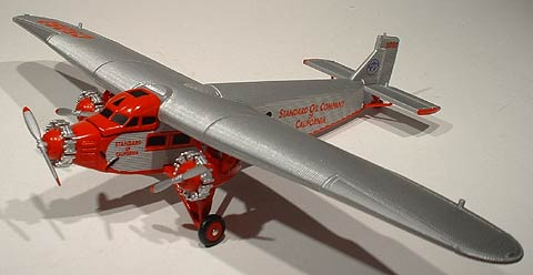 21592P - ERTL Toys Chevron Airplane Series 2 2005 1927