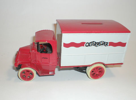 2434 - ERTL Caterpillar 1926 Mack Delivery Truck bank