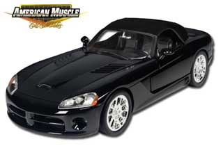33249 - ERTL Toys 2003 Dodge Viper SRT 10 Limited