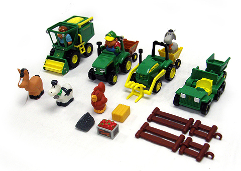 34984B - ERTL Toys John Deere Fun on