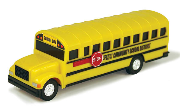 35436-CNP - ERTL Toys School Bus Collect N Play Series