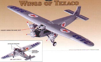 36910 - ERTL Toys Texaco Wings Of Texaco 7 1999