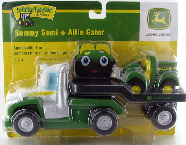37721B-2 - ERTL Toys John Deere Sammy Semi and Friend