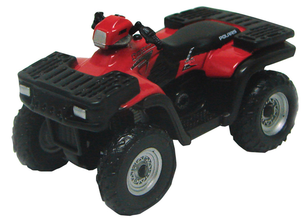 39453-CNP - ERTL Toys Red ATV Collect N Play Series
