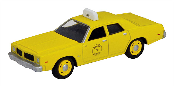 39595-CNP - ERTL Toys 1977 Dodge Monaco Taxi Collect N Play