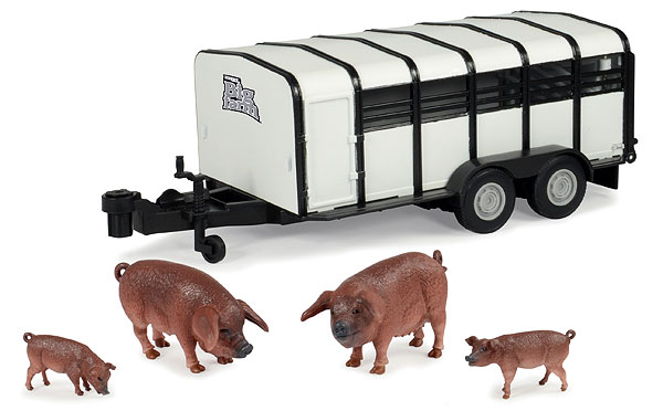 42995 - ERTL Toys Hog Trailer Big Farm Series Made