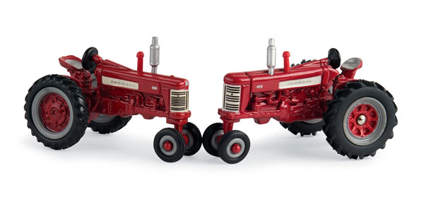 44077 - ERTL Toys Farmall 350 and 450 Tractors 60th