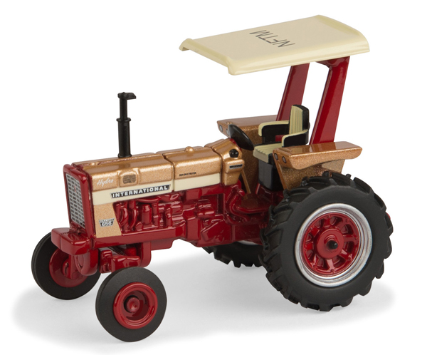 44120 - ERTL Toys Farmall 656 Gold Demo Hydro National Farm