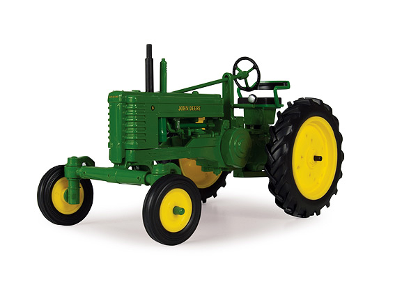 45300 - ERTL Toys John Deere Late Styled BW Tractor