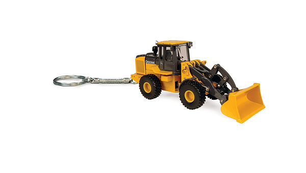 45320 - ERTL John Deere Wheel Loader Key Ring