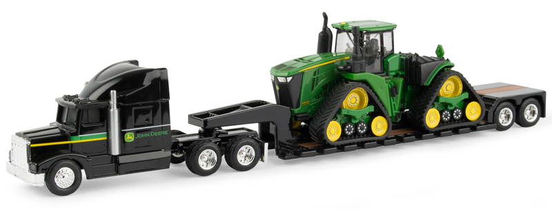 45559 - ERTL Toys John Deere Semi and Lowboy Trailer
