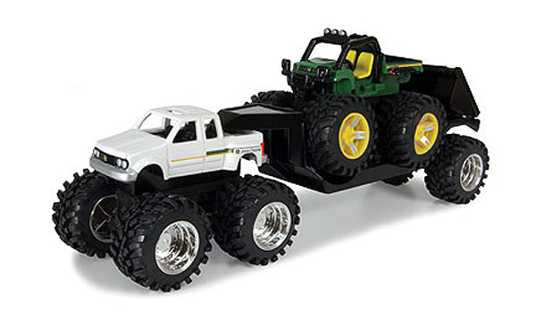 46067 - ERTL Toys Monster Treads Monster Pickup Truck