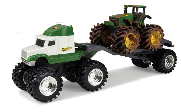 46085 - ERTL John Deere Monster Treads Semi Truck