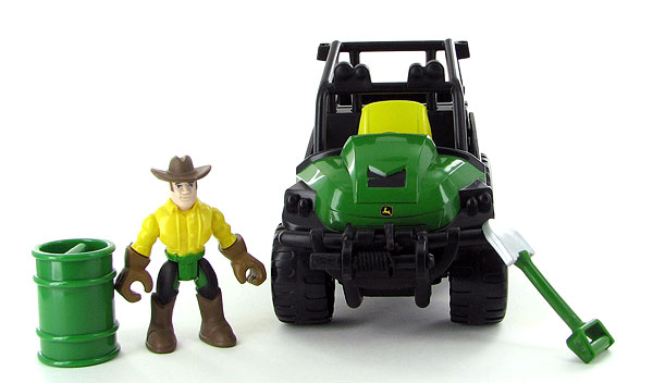 46342 - ERTL Toys John Deere Gear Force All Terrain