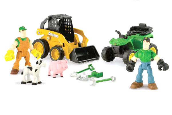 46383 - ERTL Toys John Deere Gear Force Value Playset