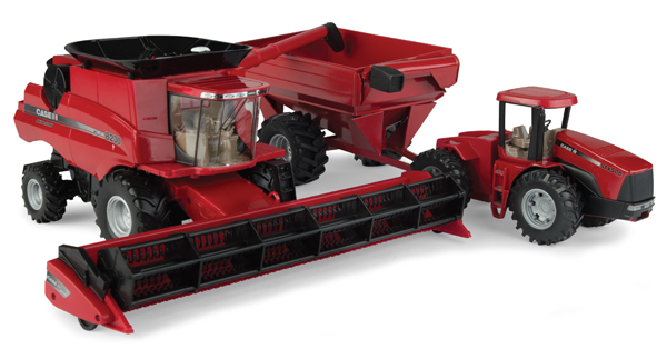 46666 - ERTL Case IH Harvesting Playset