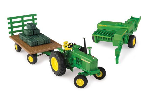 46667 - ERTL John Deere Haying Set Big Farm