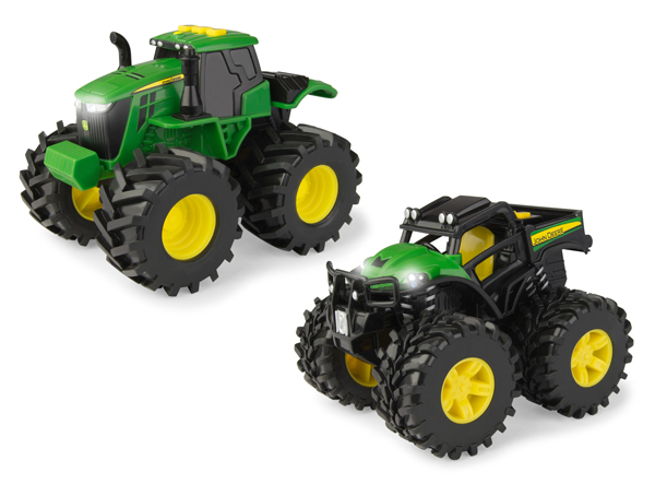 46670 - ERTL Toys John Deere Monster Treads Lights and