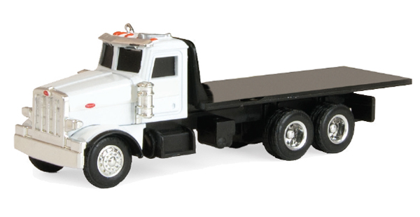 46709-CNP - ERTL Toys Peterbilt Flatbed Truck Collect N Play