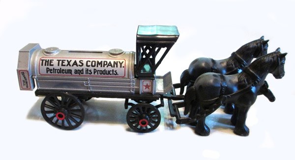 9390-BOX - ERTL Toys Texaco 8 1991 Horses and Tanker