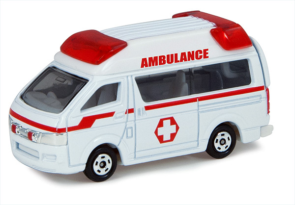 T16014-CNP - ERTL Ambulance in White and Red Collect