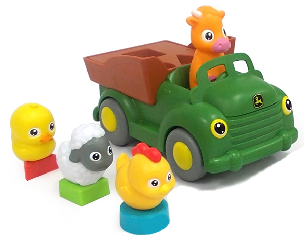 T16019 - ERTL Toys John Deere Learn and Pop Farmyard