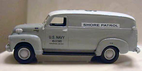 19-1552 - First Gear US Navy Shore Patrol Paddy Wagon