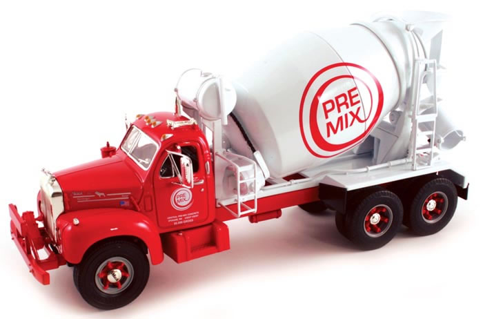 19-3174 - First Gear Central Ready Mix 1960 Mack Cement