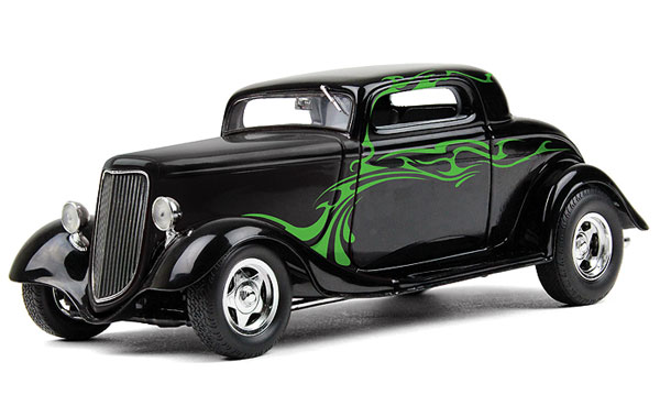 40-0382 - First Gear 1934 Ford Coupe Street Rod diecast