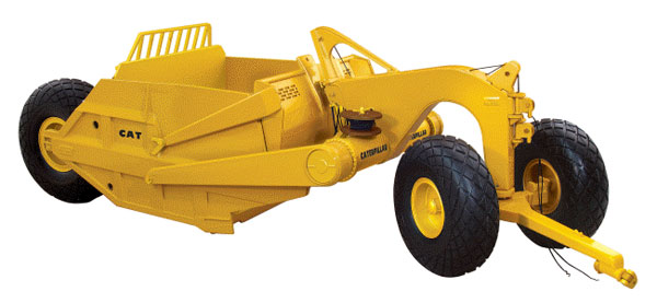 49-0175 - First Gear Caterpillar 491 Scraper
