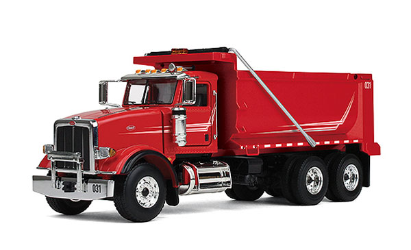 50-3358 - First Gear Peterbilt 367 Dump Truck