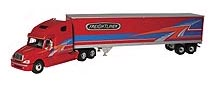 59-0200 - First Gear Freightliner Columbia Tractor Trailer Semi Truck