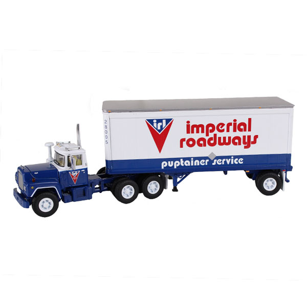 60-0265 - First Gear Imperial Roadways Mack R Model