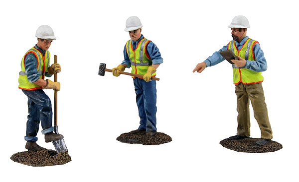 90-0481 - First Gear Construction Figures 3 Piece Set Worker