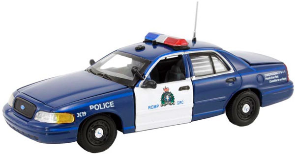 FCV-107 - First Response RCMP in Retro Blue and White