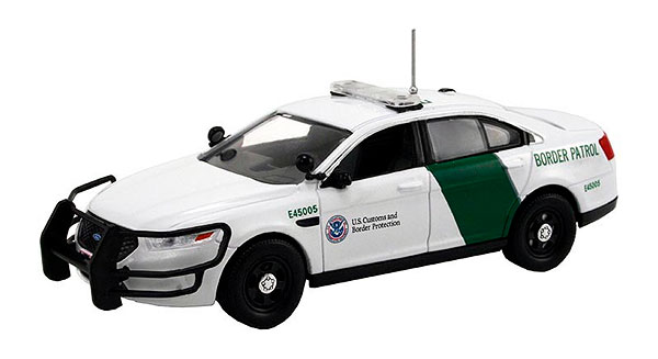 FDS-112 - First Response US Border Patrol 2014 Ford Police Interceptor